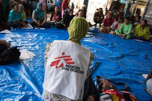 MSF responds to tsunami in Indonesia