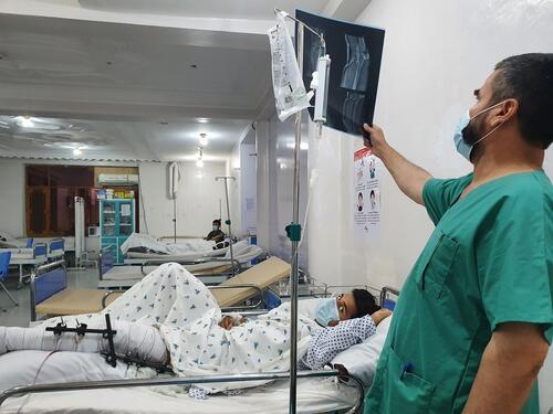 أنشطة أطباء بلا حدود في أفغانستان