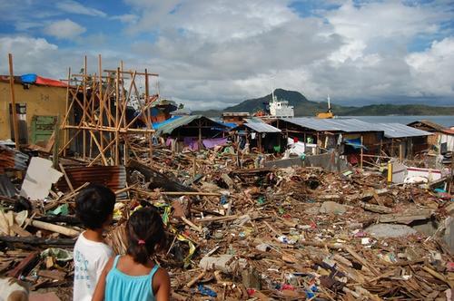 Tacloban slum