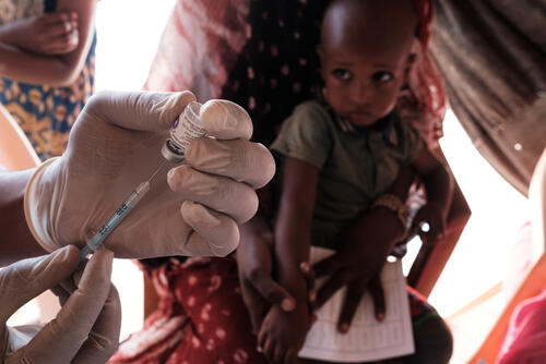 Mbera Camp - Vaccination Campaign