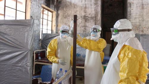 Ebola outbreak in DRC's Equateur province