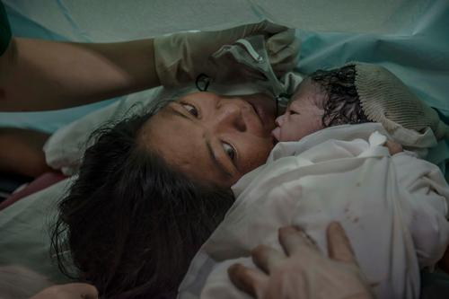 First baby born in Tacloban Hospital