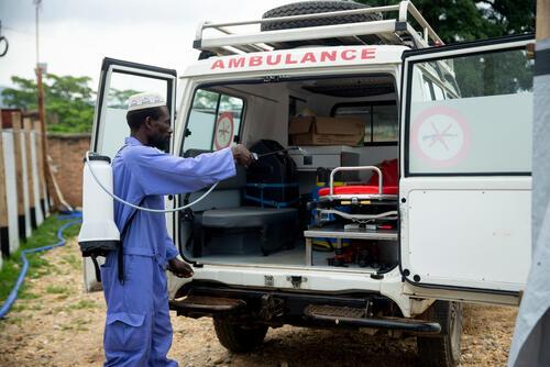 Cholera epidemic in Burundi - CTC Bujumbura