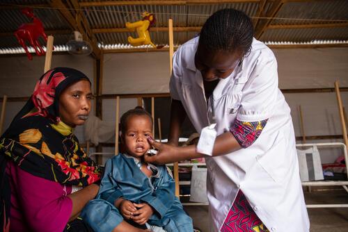 MSF Response Measles Outbreak in N'Djamena