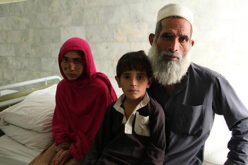 Nabeela Story  - Cutaneous Leishmaniasis Treatment, Peshawar