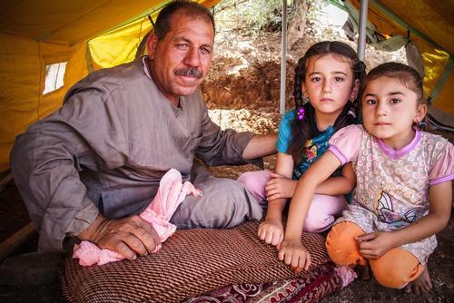 Iraq - IDP fleeing violence in northern Iraq