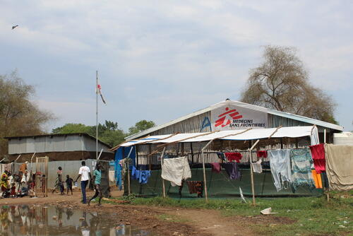 South Sudanese Refugees | MSF Clinic Pagak