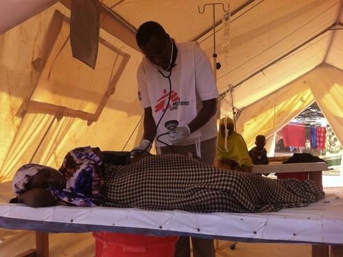 Kenya - Cholera epidemic in Dadaab refugee camps