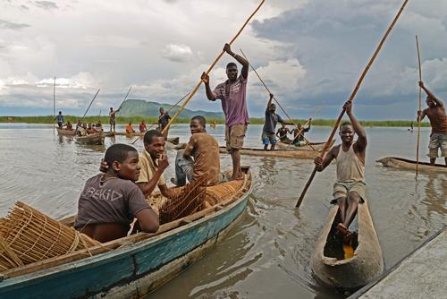 Cholera response on and around lake Chilwa