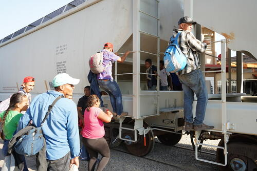 Migrants in the City of Coatzacoalcos