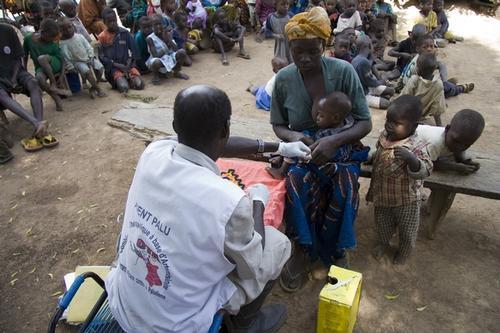 Malaria in Mali, November 2007