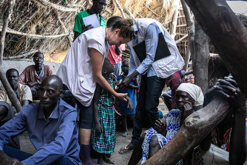 MSF floods intervention in Ulang, South Sudan.