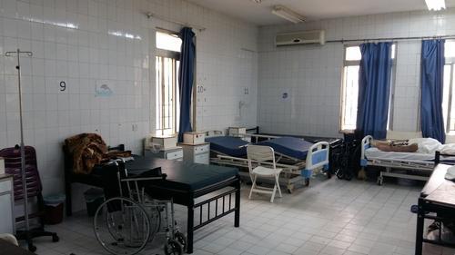 Ramtha hospital after Jordan/Syria border closure