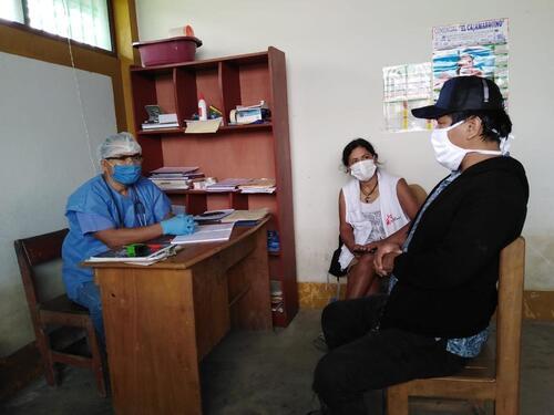 COVID-19 intervention in the Amazon region of Peru