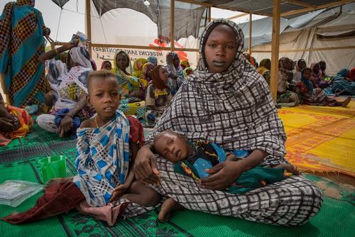 IDPs in Bol, at lake of Chad