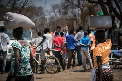 MSF Clinic in Palorinya Refugee Camp, Uganda