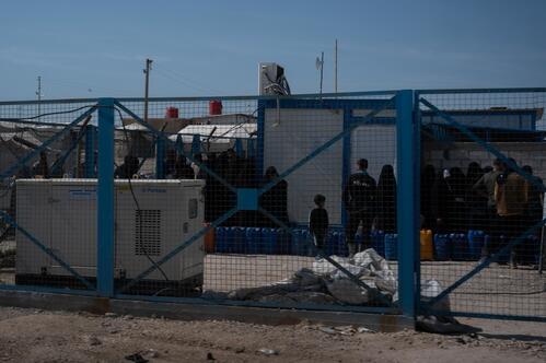 Al Hole Camp - Eastern Al Hasakah Governorate