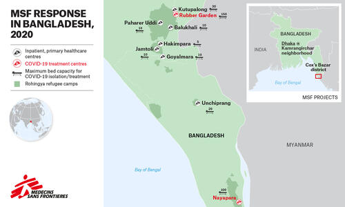 MAP (PNG) – MSF Response in Bangladesh – EN