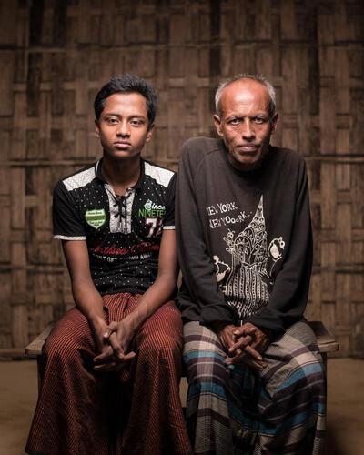 Mental Health: Rohingya Trauma and Resilience - Jahangir and Badarul Story