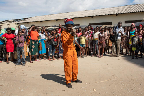 Health promotion activities in Beira, Mozambique