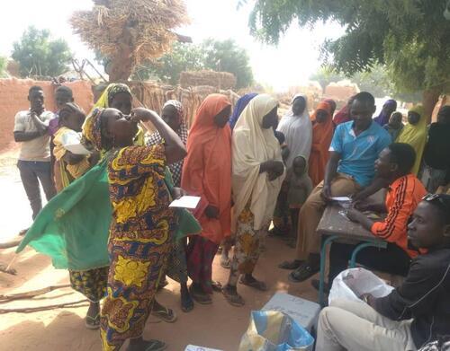 Cholera vaccination campaign in Maradi