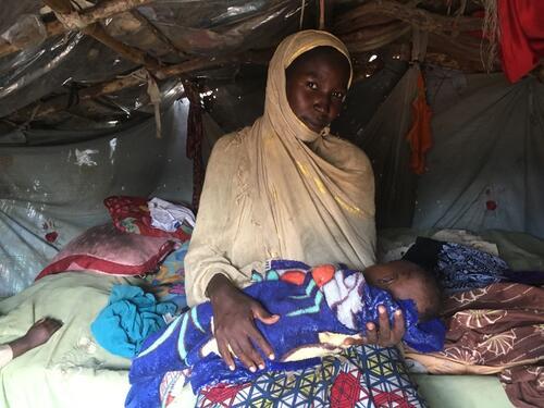 Emergency nutrition program in N'Djamena