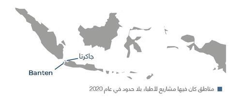 خريطة أنشطة أطباء بلا حدود في أندونيسيا في عام 2020