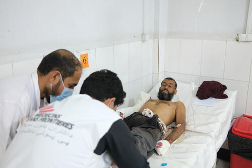 Boost Hospital Lashkar Gah - Ongoing Fighting Affected Population
