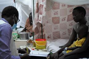 MSF Hospital, Malakal Protection of Civilians (PoC) Site