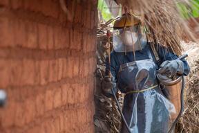Malaria Prevention Campaign in Kinyinya district, eastern Burundi