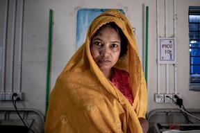 Portraits of ten Rohingya refugees + audio interviews