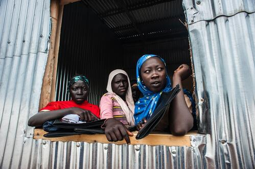 MSF assists Sudanese refugees in Bambasi camp, all uses