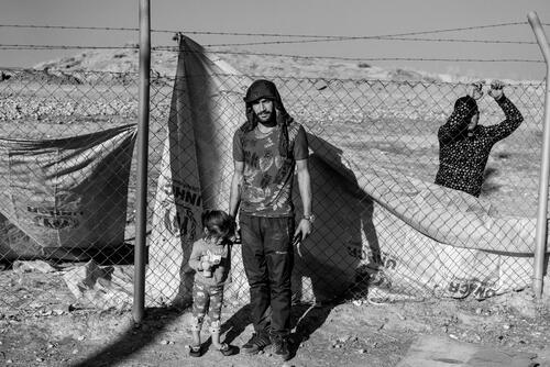 Refugees from North-Eastern Syria in Iraq