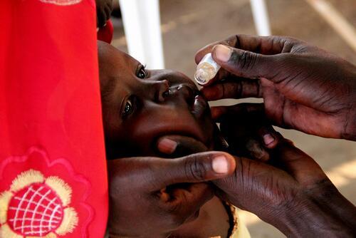 Oral cholera vaccination campaign, South Sudan, Maban, Dec'12/Jan'13