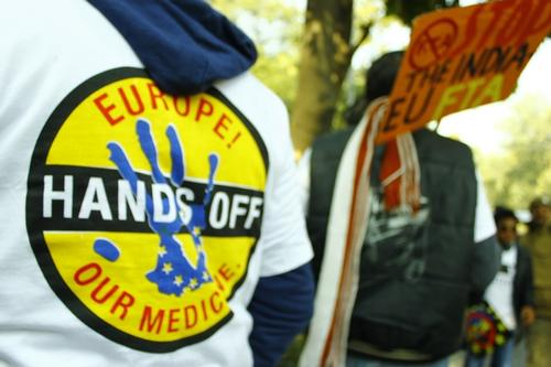 FTA Protest Delhi - February 2012