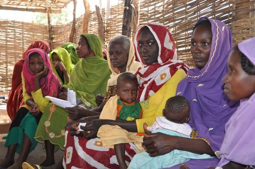 Darfur Refugees MSF Health Centre Chad