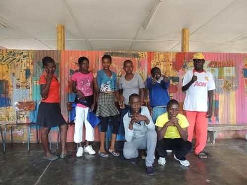 HIV support group for adolescents