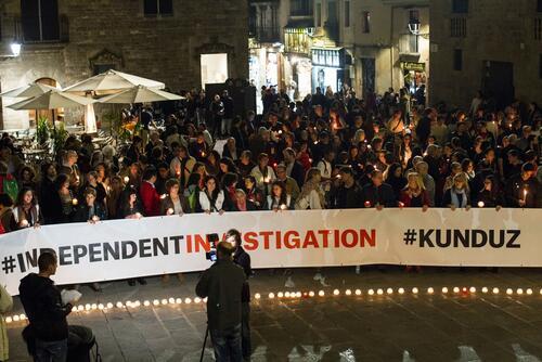 Kunduz 1 Month After Commemoration - Spain