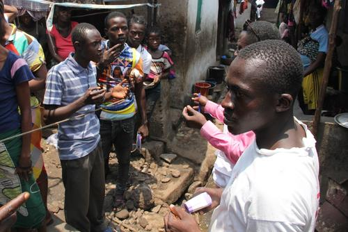Outreach Ebola contact tracing and surveillance, Freetown