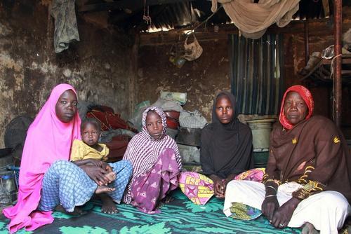 Hauwa Abba's family