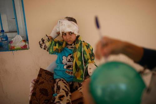 Mosul : Qayyara hospital