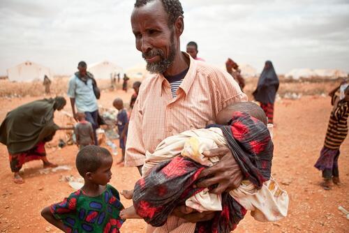 Somali refugee camps in Liben region near Dolo Ado, Ethiopia September 2011.