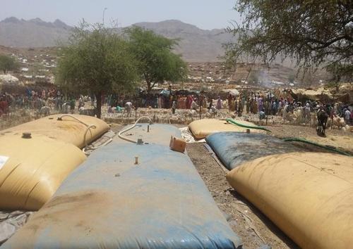IDPs in Sortoni camp