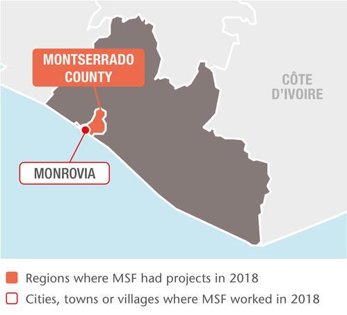 MSF projects in Liberia, 2018 - EN
