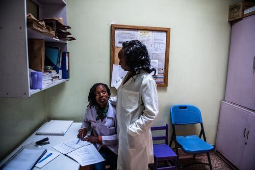MSF SGBV clinic in Eastlands, Nairobi