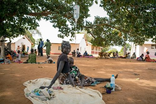 Seeking malaria treatment around Aweil, South Sudan