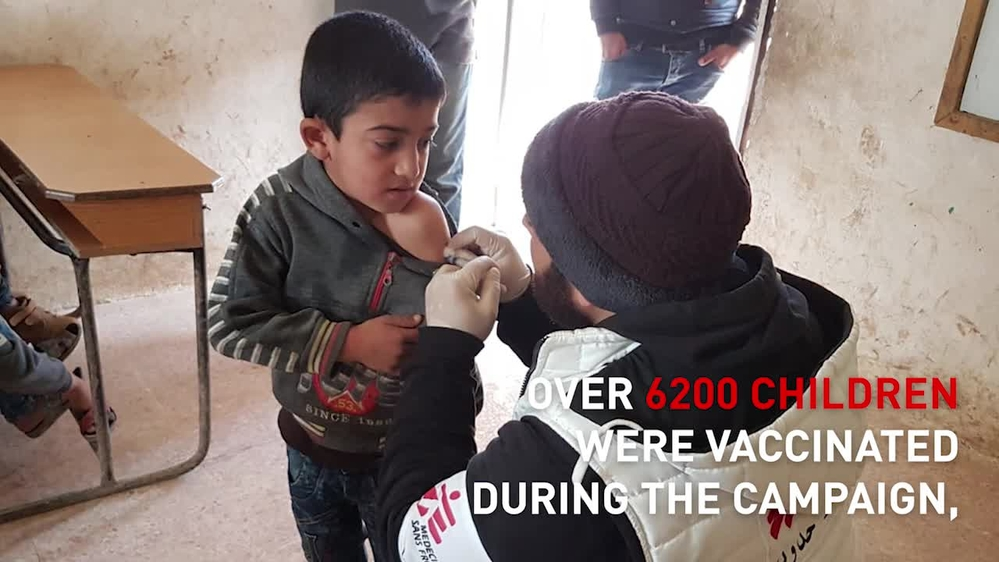 MSF activities in Idlib, Northwest Syria | WEBCLIP ENG