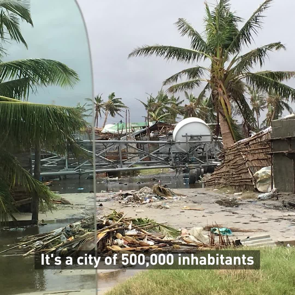 Flooding nearly destroys Mozambique city | WEBCLIP ENG