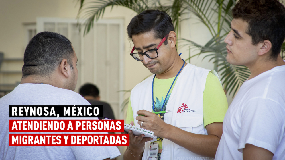 Reynosa Mexico Caring for migrants and deportees_ENG
